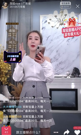 China livestreaming KOL